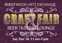 Brentwood Arts Exchange Craft Fair and Beer Tasting Lounge