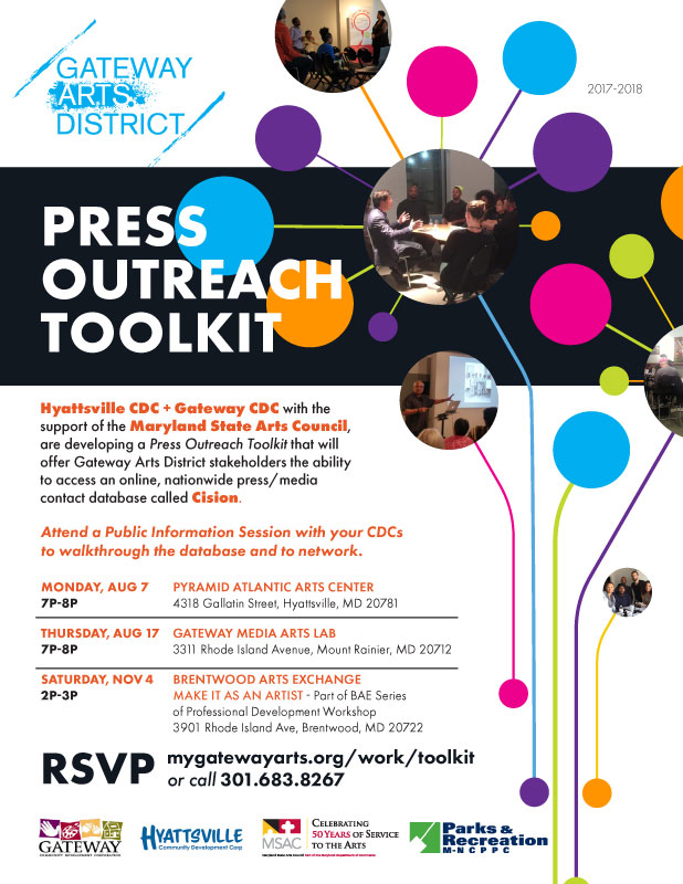 Gateway Arts District Press Outreach Toolkit Launch