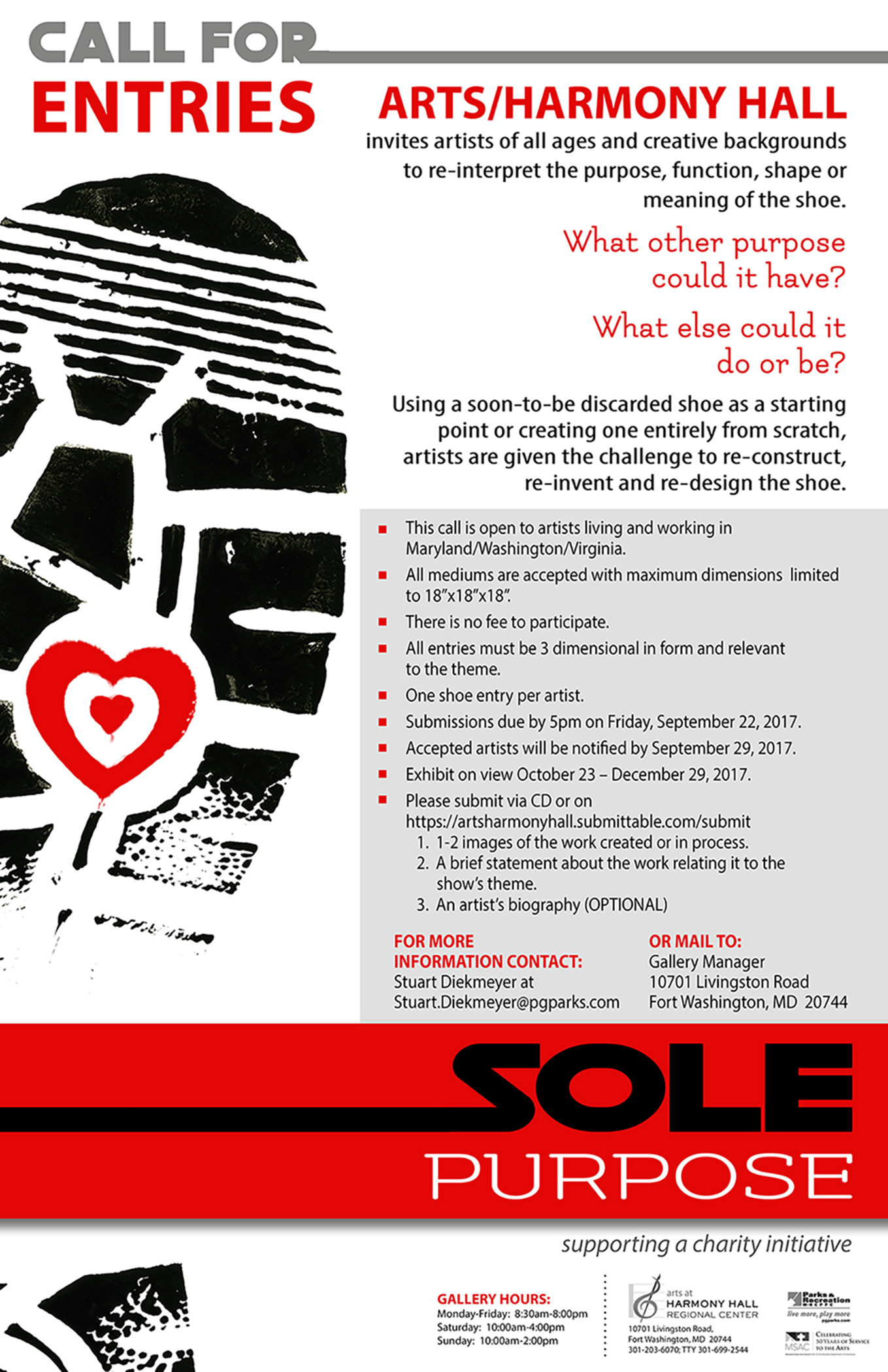 Call For Entries For Sole Purpose Exhibit